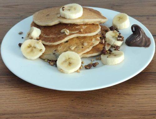 Pancake Ambrosiae con granola proteica